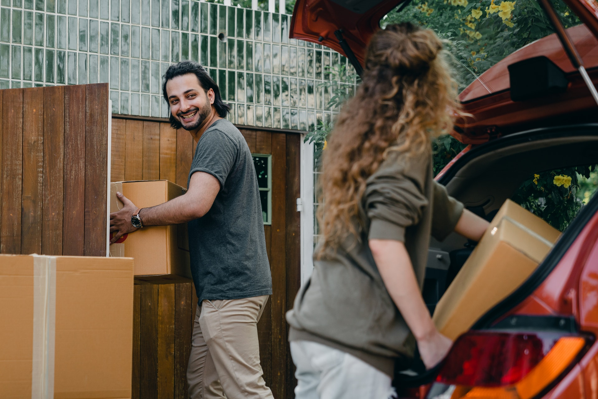remaining stress-free when moving
